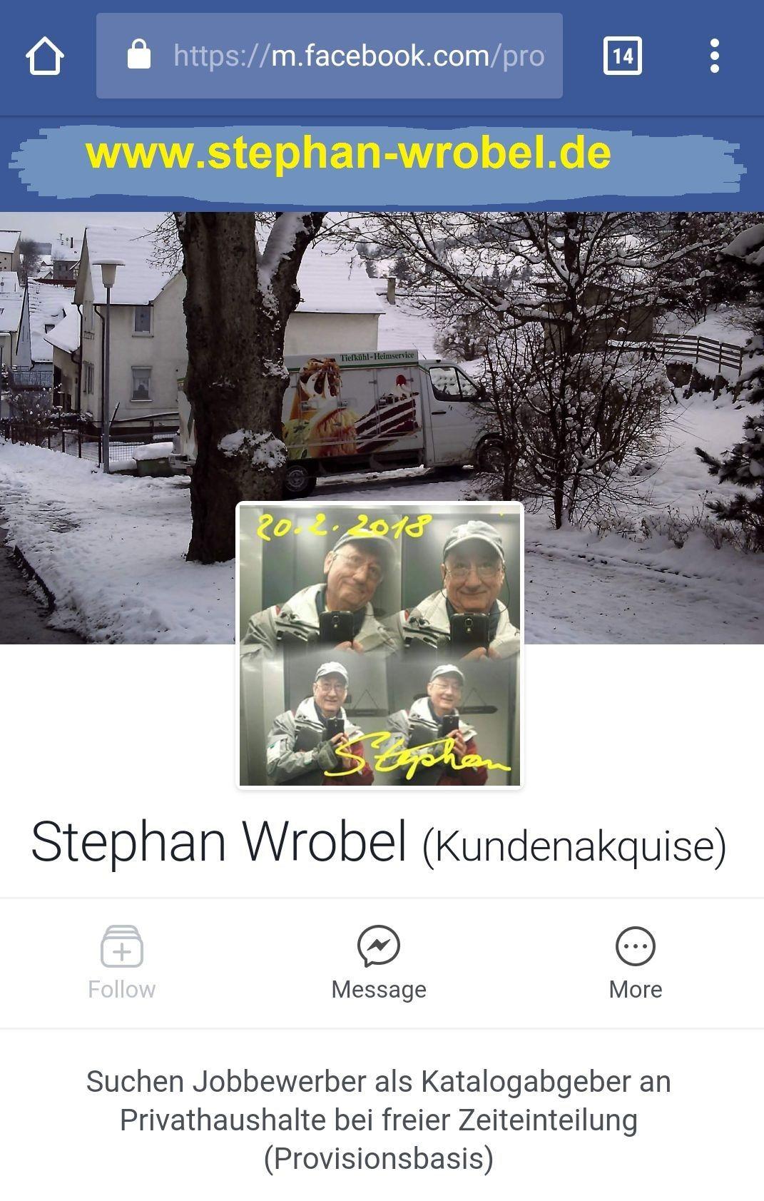 Stephan Wrobel, seit 2009 (beruflich)