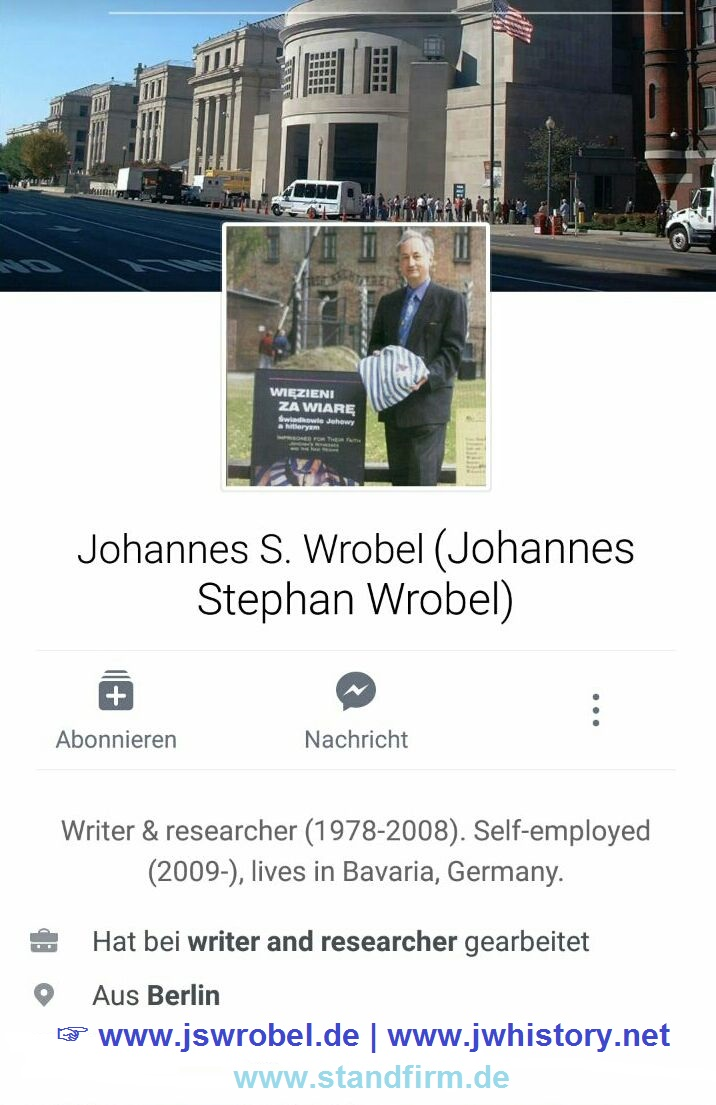 Johannes S. Wrobel on facebook