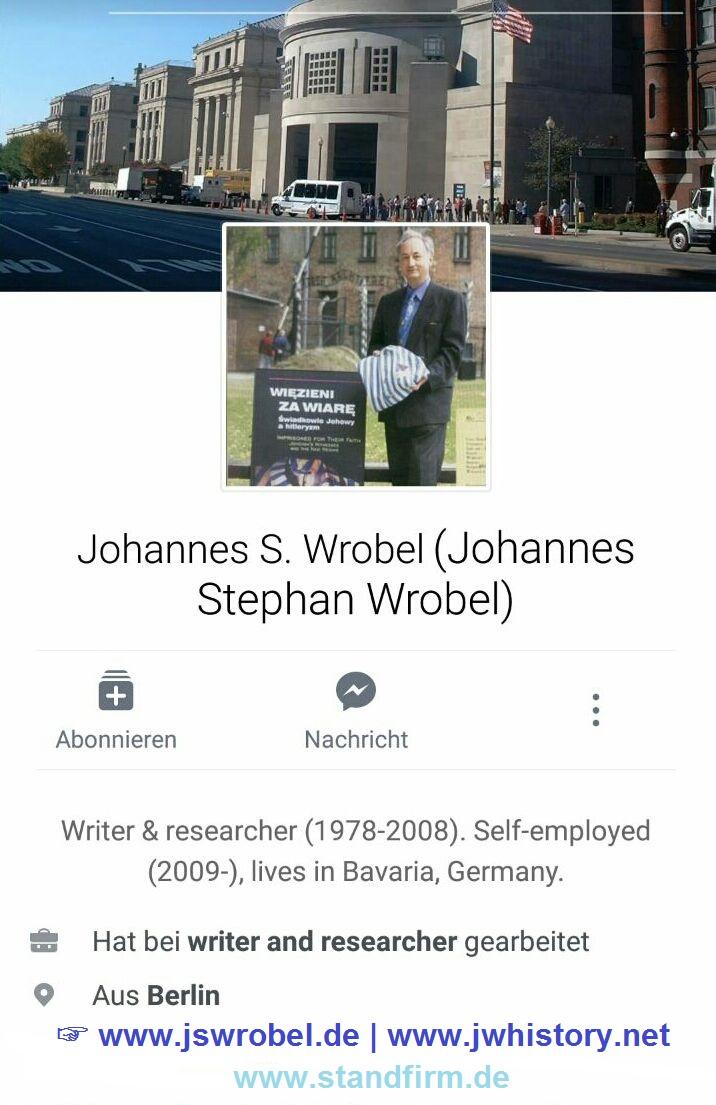 facebook-Profil Geschichts- und Gedenkarbeit 1996-2008