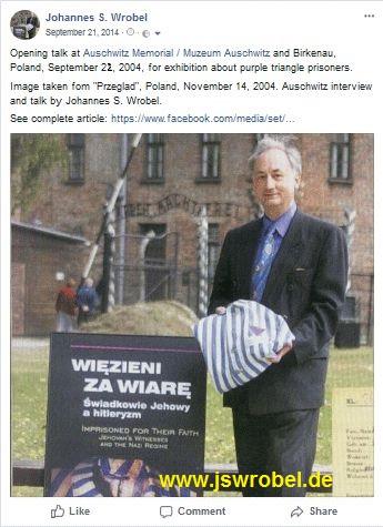 Deutsches KZ Auschwitz, Polen, 21.09.2004.