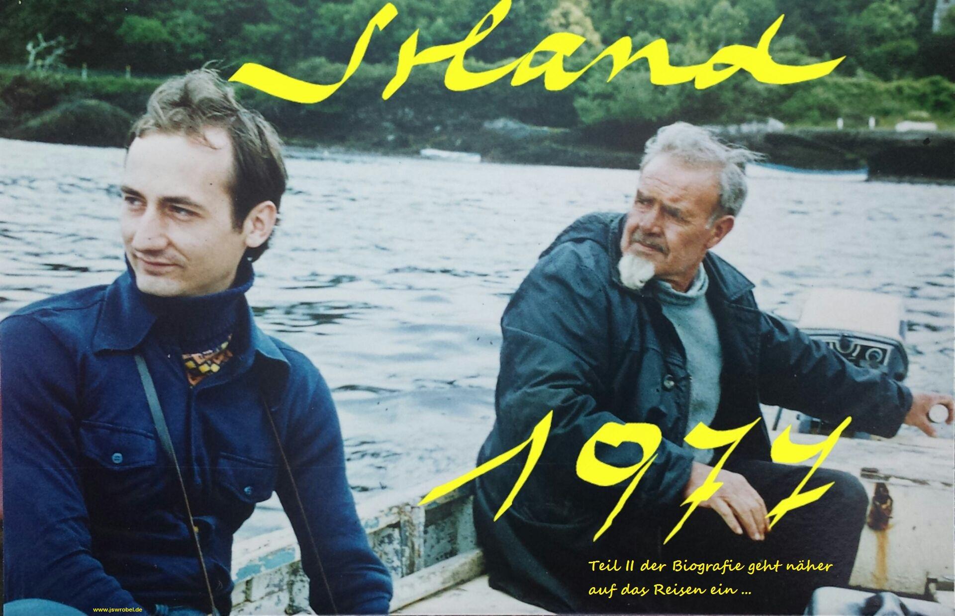 Wanderreise, Irland, Sommer 1977.